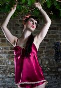 "Silk Lingerie Vintage Style Camisole ""Isobel"""